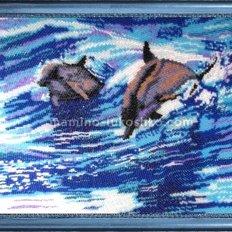 Набор для вышивки бисером Дельфины (по картине Е. Самарской)