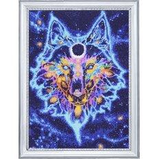фото картина для вышивки бисером волк