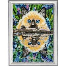 фото: картина для вышивки бисером Отражение в воде