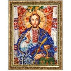 изображение: икона для вышивки бисером Христос Спаситель