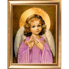 фото: картина для вышивки бисером Маленький ангел