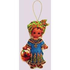 Набор для создания игрушки из фетра Кукла. Африка