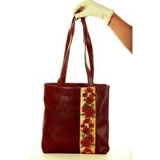 фото: сумка для вышивки бисером Маки