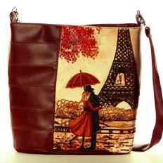фото: сумка для вышивки бисером Париж