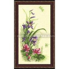 Набор для вышивки крестом Полевые цветы