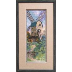 фото: картина для вышивки крестиком, Ветряная мельница