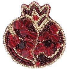 Набор для вышивания броши Гранат