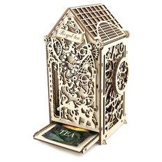 фото: механический чайный домик из фанеры