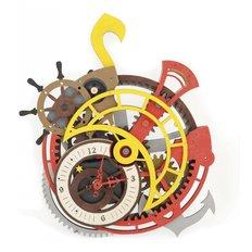 фото: корабельные часы из фанеры
