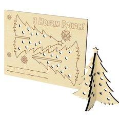 фото: новогоднее украшение из фанеры Открытка