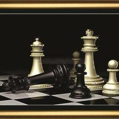 Набор со стразами Шахматы