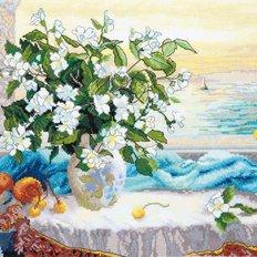 фото: картина для вышивки крестом Утренняя свежесть