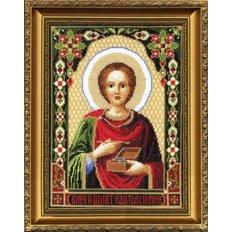 Набор для вышивки крестом Икона Великомученика Пантелеймона
