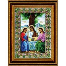Набор для вышивки крестом Икона Пресвятой Троицы