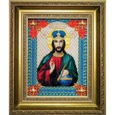 Набор для вышивки крестом Икона Господа Иисуса Христа