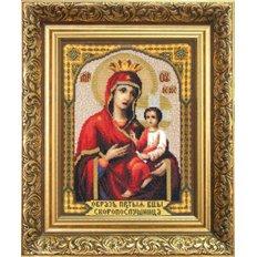 Набор для вышивки крестом Икона Божьей Матери Скоропослушница