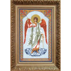 Набор для вышивки крестом Икона Ангел Хранитель