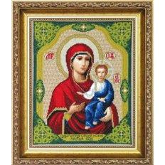 Набор для вышивки крестом Икона Образ Пресвятой Богородицы Одигитрия Смоленская