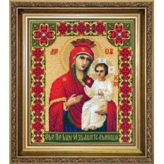 Набор для вышивки крестом Образ Пресвятой Богородицы Избавительница