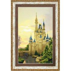 фото: картина, вышитая крестиком, Дворец для принцессы