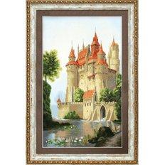 фото: картина, вышитая крестиком, Дворец для принца
