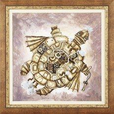 Набор для вышивки крестом Золотая черепаха