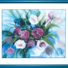 Набор для валяния Утренние тюльпаны