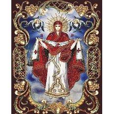 фото: картина для вышивки в алмазной технике, Покрова Пресвятой Богородицы