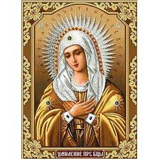 фото: картина для вышивки в алмазной технике, Богородица Умиление