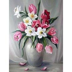фото: картина для раскрашивания по номерам, Весенний аромат