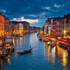 фото: картина для раскрашивания по номерам Вечерняя Венеция