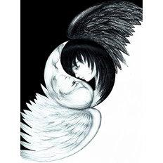 фото: картина для раскрашивания по номерам, Символ любви – Инь и Янь