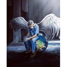 фото: картина для раскрашивания по номерам, Защитники мира