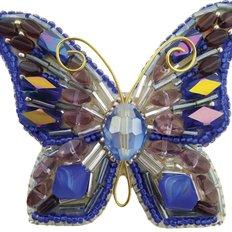 фото: брошь для вышивки бисером Бабочка