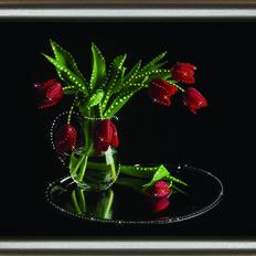 фото: картина со стразами, Романтика