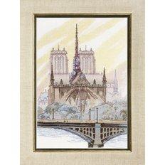 Набор для вышивки крестом Париж. Нотр-Дам де Пари