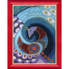 Набор для вышивания Синяя птица счастья