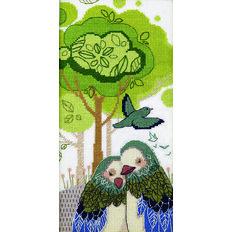 фото: картина для вышивки крестиком, Любящие объятия