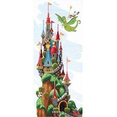 фото: картина, вышитая крестиком, Сказочный замок