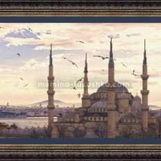 Набор для вышивки крестом Мечеть Султанахмет