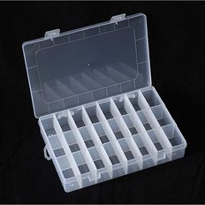 Органайзер для бисера на 24 ячейки