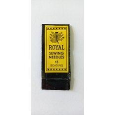 Игла бисерная №15 Royal
