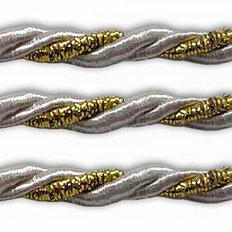 фото: шнур витой серебро для оформления сапожков и игрушек