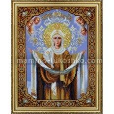 Набор для вышивки бисером Икона Покров Пресвятой Богородицы