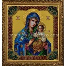 Набор для вышивки бисером Икона Божией Матери Неувядаемый цвет