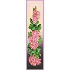 фото: картина, вышитая бисером, Розы