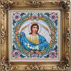 изображение: икона бисером Архангел Варахиил