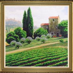 фото: картина для вышивки бисером, Итальянский пейзаж