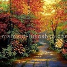 Схема для вышивки бисером Осенний парк