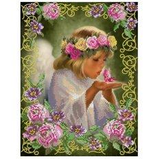 фото: схема для вышивки бисером, Ангелочек